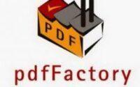 pdfFactory Pro 7.44 Crack + Serial Key 2021 Full Latest